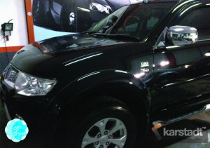 ppaint protection pajero sport